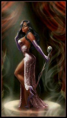 Black Jessica Rabbit