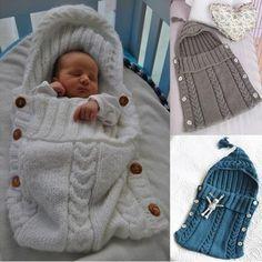 baby knitted sleeping bag pattern free - y Search Knitting Patterns Boys, Baby Patterns, Crochet Patterns, Crochet Baby Cocoon, Baby Blanket Crochet, Knit Crochet, Baby Sleeping Bag Pattern, Baby Bunting Bag, Baby Cocoon Pattern