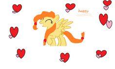 super happy pony