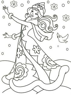 Розфарбування. Зима Coloring Sheets For Kids, Colouring Pages, Printable Coloring Pages, Coloring Pages For Kids, Coloring Books, 100 Diy Crafts, Parchment Design, Balance Art, Christmas Drawing