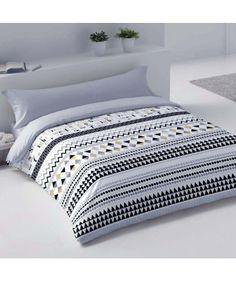 FUNDA NÓRDICA HAPPY GRIS Mattress, Comforters, Blanket, Bed, Furniture, Home Decor, Duvet Covers, Bedding, Beds