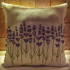 """Купить Подушка декоративная """"Лаванда"""" - комбинированный, Подушки, подушки декоративные, подушки диванные, подушка с принтом"""