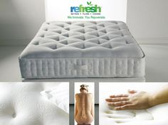 """Introducing #FreshFoamMattress with unique airflow layer &  Unicell technology which helps in reducing stress on pressure  points"""