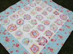 french roses quilt pattern   Spun Sugar Quilts