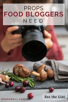 Awesome props food bloggers need to make their food pics stand out.