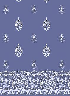 individuals in a row or solid border? India Pattern, Batik Pattern, Paisley Pattern, Textiles, Textile Patterns, Print Patterns, Wall Paint Inspiration, Design Art, Print Design