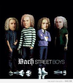 Bachstreet boys lol