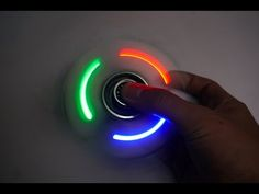 How To Make A LED Hand Spinner - Fidget Toy - YouTube
