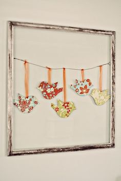 Cute Paper Bird Decor aakers77