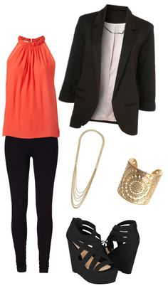 """""""Work interview"""" by caitlyn-seastrunk ❤ liked on Polyvore"""