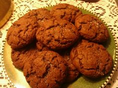 Chocolate cookies made from cake mix. So thick and soft...totally yummy! 1/3 oil and 2 eggs..that's it :)