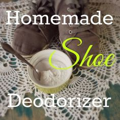 FOR MY BOYS! Homemade Shoe Deodorizer If you suffer from stinky feet, or just want to keep your shoes smelling fresh, then this homemade shoe deodorizer is the solution for you to remove odor from shoes. I personally don't have stinky feet, but even those with the best smelling feet will end up with stink shoes. This simple...Read More »