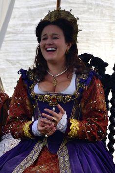Queen Elizabeth, New York Renaissance Faire.