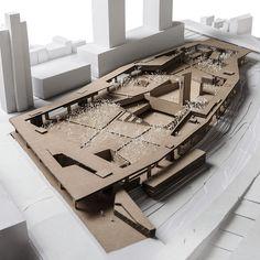 ARCHITECTURAL MODEL   SEOSOMUN PARK - PWFERRETTO