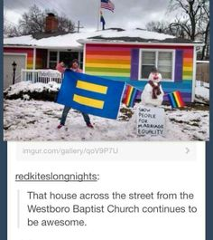 Gay rights.. love this!