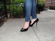 Tweed Blazer & Black Pumps | High Heel Hydrangeas  instagram.com/highheelhydrangeas