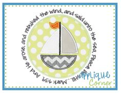 Hey, I found this really awesome Etsy listing at https://www.etsy.com/listing/154123919/sailboat-with-bible-verse-applique