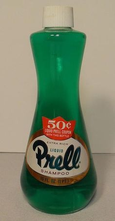 Prell/ everyone loved this - I learned (in cosmetology school) that is you want to strip your hair of chemicals, Prell is it!