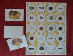 Spanish Beginning Syllable Games: Syllable Bump & Syllable Connect Four. $ Your students will love practicing their syllables with this engaging game!