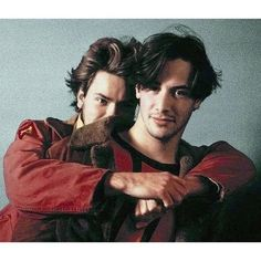 """""""River's the best man, he's a god, he's a king. I pray to the church of River Phoenix!"""" - Keanu Reeves"""