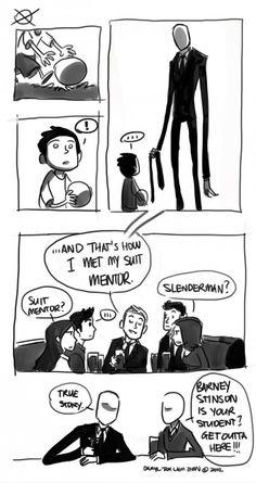 How I met my suit mentor