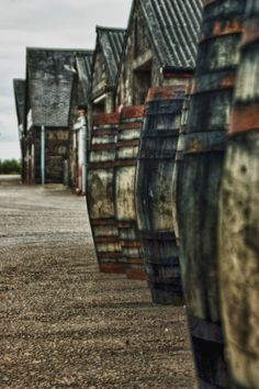 Whiskey Barrels, Glenmorangie Distillery