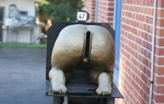 If you are a postal worker and you come across a mailbox like the ones in this list, do you laugh or think wtf. We have gathered 40 funny and weird mailboxes.