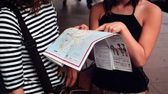 Paper maps are back in fashion in Europe, thanks to the free, funky guides from non-profit group USE-IT. Great for teens!