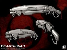 Gears of War COG Gnasher by YemYam