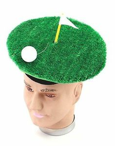 Golfer Pub Golf Fancy Dress Hat One Size  6382a1e0791