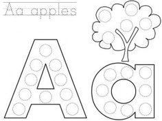 Alphabet Dot Coloring Pages Elegant Bingo Dauber Abcs General Education Alphabet Bingo, Alphabet Crafts, Alphabet Worksheets, Kindergarten Worksheets, Coloring Worksheets, Kids Worksheets, Printable Coloring, Bingo Dabber, Dot Letters