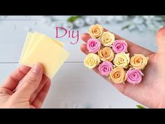 Diy Lace Ribbon Flowers, Ribbon Flower Tutorial, Ribbon Embroidery Tutorial, Crepe Paper Flowers, Paper Roses, Ribbon Rose, Bow Tutorial, Ribbon Hair, Hair Bows