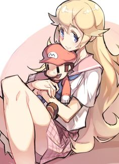 Can you tell that peach loves Mario.Teenage peach has a Mario doll in her hand. Super Smash Bros, New Super Mario Bros, Super Mario Brothers, Nintendo Characters, Video Game Characters, Gi Joe, Super Peach, Nintendo Princess, Princesa Peach