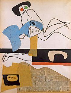 "surrealism-love:  ""Taureau (bull or beefy man) XVIII via Le Corbusier  """