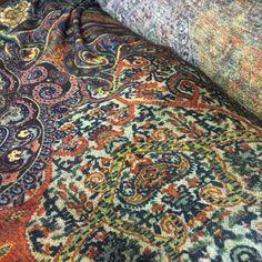 Купить ETRO, джерси шерсть, , Италия - разноцветный, итальянские ткани, ткани для шитья, ткани Италии