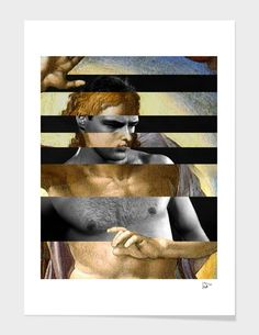 Michelangelo's Christ and Marlon Brando main illustration