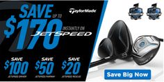 Need some extra oomph in your drive? Upgrade your game and save up to $170 instantly on our TaylorMade Jetspeed drivers, fairway woods, and rescue clubs. #GolfForeLess http://www.progolfseattle.com/current-sale