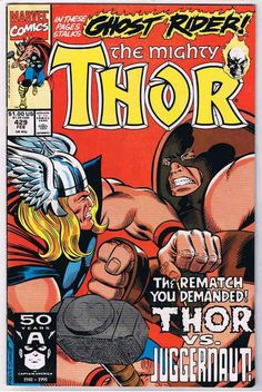 The Mighty Thor #429 Comic Book