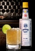 Modern Mule -- includes vodka, ginger beer, lime juice, simple syrup, and bitters