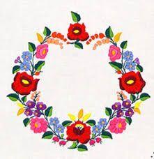 「kalocsai minta」の画像検索結果 Polish Embroidery, Hungarian Embroidery, Folk Embroidery, Hand Embroidery Patterns, Floral Embroidery, Embroidery Designs, Folk Art Flowers, Flower Art, Needlepoint Patterns