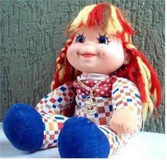 Boneca Emília Antiga