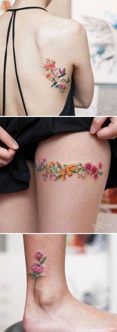 20 tatouages de fleurs qui vous donneront envie de vous faire tatouer | ipnoze