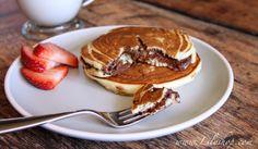 Nutella Pancakes via Lilyshop Blog by Jessie Jane