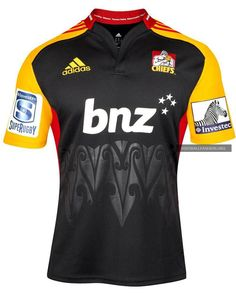 Chiefs Rugby 2013 adidas Home and Away Jerseys