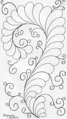 Quilting design