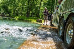 Visit Dogwood Canyon this season to see native wildlife and explore the beauty of the Ozarks on their 2 hour tram tour. Reserve your spot online today. Trout Fishing, Fly Fishing, Dogwood Canyon, Fish Activities, Fishing Adventure, Outdoor Learning, Travel Tours, Horseback Riding, Great Places