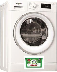 7 kg Fassungsvermögen mit Schleuderumdrehungen 1400 U/min. und leisem Inverter-Motor bei Energieeffizienzklasse A+++ Motor, Washing Machine, Laundry, Home Appliances, Technology, Primary Election, Laundry Room, House Appliances, Washer