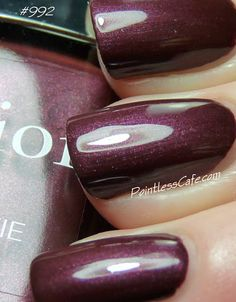 Dior Galaxie #992 - Swatches and Review | Pointless Cafe