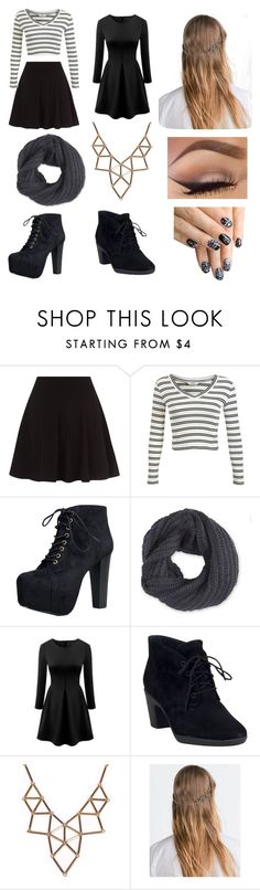 """""""💜"""" by aimeevega649 ❤ liked on Polyvore featuring Miss Selfridge, Speed Limit 98, Frenchi, WithChic, Clarks, Chicnova Fashion, Zara and alfa.K"""