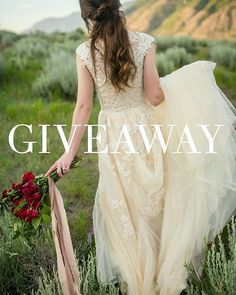 """It's giveaway time!! I've teamed up with @stephanielorrainephotography and @kaitparkinsonmua to offer a free bridal photography session along with hair and makeup and a gorgeous bouquet to one lucky bride to be used for her bridals! All you have to do is follow the steps below!  1. """"Like"""" this photo 2. """"Follow"""" me, @stephanielorrainephotography and @kaitparkinsonmua 3. Last, we want to get to know YOU! Post an image of you and your significant other telling us why we should pick you for this…"""